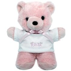 Sophia in ASL Teddy Bear > Sophia-pink > Personalized Sign Language Gifts  http://www.cafepress.com/signbaby.691632054?aid=1838469
