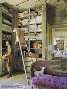 gives a whole new meaning to linen closet...