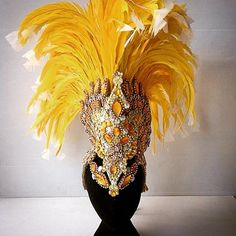 Hello sunshine!! This yellow <a href='/tag/couture' target='_blank'>#couture</a> <a href='/tag/Mohican' target='_blank'>#Mohican</a> headdress is part of our latest luxury set, this time sold to Shyamla from <a href='/rhythmbrazil_official' target='_blank'>@rhythmbrazil_official</a>  Head to our Facebook page to check out photos of the matching <a href='/tag/shrug' target='_blank'>#shrug</a> <a href='/tag/gloves' target='_blank'>#gloves</a> and <a href='/tag/accessories'…