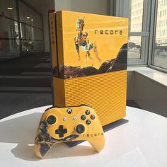 Very beautiful Xbox S recore