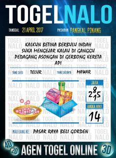 Angka Ikut 4D Togel Wap Online TogelNalo Pangkal Pinang 21 April 2017