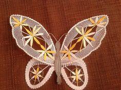 žlty motyl / margitkabb - SAShE.sk - Handmade Dekorácie