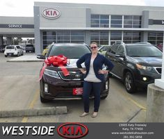 #HappyBirthday to Adrienne from Rick Hall at Westside Kia!  https://deliverymaxx.com/DealerReviews.aspx?DealerCode=WSJL  #HappyBirthday #WestsideKia