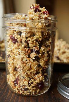 Snack Attack: Honey Vanilla Quinoa Granola (Quinola) | Delicious & Healthy Recipe from @ModernMomOnline