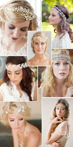 Grecian Goddess Goes Bridal #wedding #accessories
