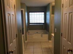 I love that you can view the tub from the master bedroom