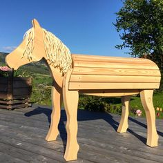 Neu Holzpferd Bayerwald-Pony TUEV GS CE Groß Holzpony für | Etsy Horse Stalls, Horse Barns, Horse Tack, Wood Projects, Woodworking Projects, Kids Outdoor Play, Horse Training Tips, Natural Horsemanship, Maila