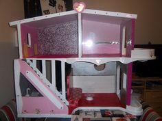 maison poupée en carton