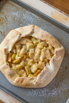 Fig, Pear and Brie Galette by CanuckCuisine, via Flickr