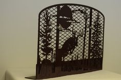 Deer Fireplace Screen by SMFus on Etsy, $159.99