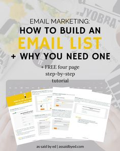 Email Marketing: How to Build an Email List. Because contrary to popular belief, email marketing is not dead. And somehow, neither is faxing. email marketing, email list, how to build an email list, mailerlite, how to set up a mailerlite account.