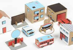 Papierowe Miasto, papertown, recycled paper town, urban planning, parenting
