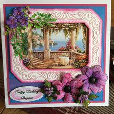 Birthday card -sheena stamps