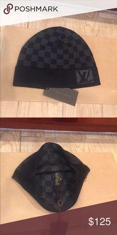 0e5d9bb4295 Louis Vuitton Damier Knit Cap Louis Vuitton Damier Knit Hat- L XL Accessories  Hats