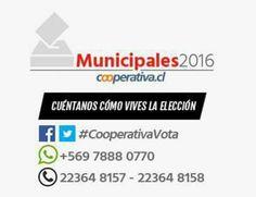 Desde las 6:00 AM cuéntanos cómo vives tu jornada electoral utilizando #CooperativaVota o enviando tu audio al Whatsapp. Si tienes dudas del proceso electoral llama a nuestros teléfonos de contacto.
