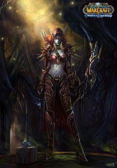 Go to http://wanelo.com/p/5327946/warcraft-blueprint for WOW secrets - #Sylvanas #World of Warcraft