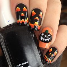 3D Halloween Nail Decoration ($5.23) ❤ liked on Polyvore featuring beauty products, nail care and nail treatments