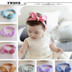 Girls' Clothing Fine Feitong Girl Headband Girl Hair Accessories Girl Headbands Cute Hairband Turban Knot Rabbit Accesorios Para El Pelo