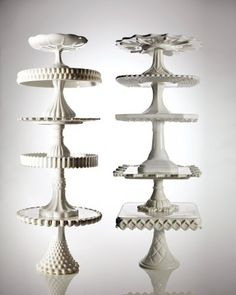 cake stands....if I had room to display them....I'd have hundreds....just love them.