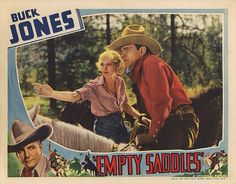Lobby Card from the film Empty Saddles