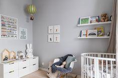 Nursery Decor at the Scandinavian Home Baby Room Neutral, Nursery Neutral, Baby Room Decor, Nursery Decor, Girl Nursery, Nursery Furniture, Modern Furniture, Scandinavian Kids Rooms, Scandinavian Interiors