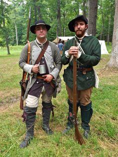 American militia, possibly Captain Terry's New York Provincials.