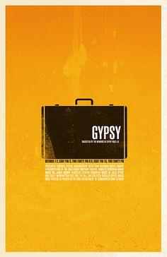 THEATRE POSTER: Gypsy by Jordan Michael Gray, via Flickr