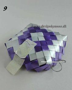 Lilla vase Diy Wallet, Recycling, Weaving, Fun, Handmade, Accessories, Diy Bags, Vases, Purses