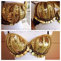 Egyptian Inspired Bra