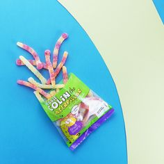 What is sugary on the outside, soft and chewy inside and full of yumminess? Colin the Caterpillar!