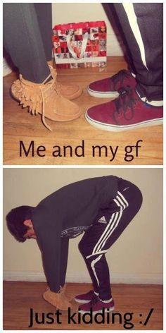 Boyfriend and girlfriend very funny cute