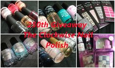 The Clockwise Nail Polish: 250th Blog followers Giveaway