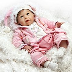 Paradise Galleries 19 inch Baby Doll That Looks Realistic & Lifelike Baby Doll, Happy Teddy, Baby Soft Vinyl GIFT For Ages 3+