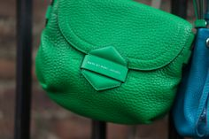 The perfect go-anywhere cross-body: the Marc by Marc Jacobs Half Pipe in Fresh Grass