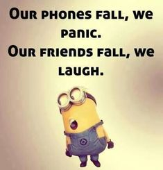 Top 21 Funny Quotes Whatsapp – Hilarious Memes And Super Humor In Life – Minions quotes Minion Humour, Funny Minion Memes, Minions Quotes, Funny Jokes, Despicable Me Quotes, Minion Sayings, Hilarious Sayings, Short Funny Quotes, Funny Picture Quotes