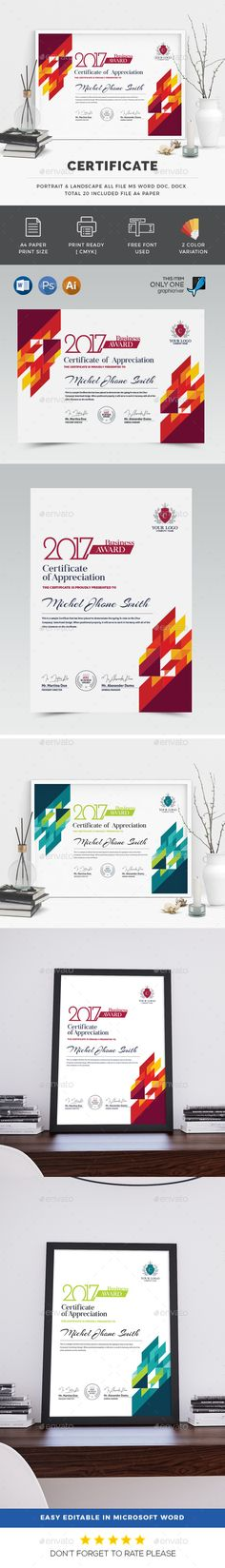 Certificate  Psd Templates Certificate And Template