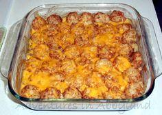 Dinner Ideas: Quick & Easy Tater Tot Casserole