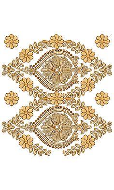 Border Embroidery Design 18612