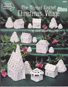 Christmas Holiday Pattern Project Booklet Thread by AuctionPost, $10.00