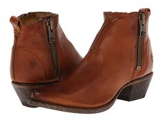Black- Frye Sacha Moto Shortie Cognac Smooth Vintage Leather - Zappos.com Free Shipping BOTH Ways