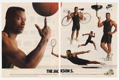 Nike Vintage Advert