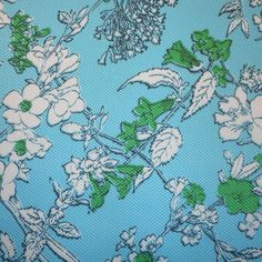 Fashion Bottomweight- Pique Floral Aqua