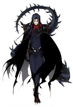 FGO Alter Cu Chulainn Dragon Knight, Knight Art, Character Concept, Character Art, Character Design, Fate Zero, Fate Characters, Fantasy Characters, Anime Demon
