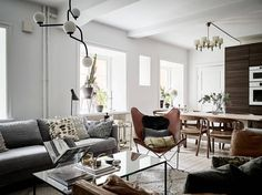 Gravity Home — Scandinavian apartment | photos by Jonas Berg for...
