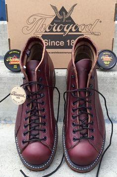 The Best Men's Shoes And Footwear : Thorogood Portage 1892 s.- The Best Men's Shoes And Footwear : Thorogood Portage 1892 series The Best Men's Shoes And Footwear : Thorogood Portage 1892 series -Read More – – fashioninspire. Best Shoes For Men, Men S Shoes, Men Boots, Work Shoes For Men, Mens Boots Fashion, Womens Fashion, Walking Boots, Vintage Boots, Leather Shoes