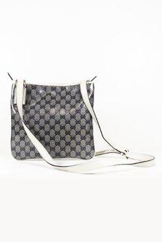 010350f9cb3 Gucci Handbags Crystal (Coating) Black and White 257246 (Messenger)
