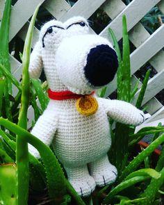 Brian from Family Guy  A special gift for the other Brian in my life @briandjedi  #brianthedog #familyguy #crochet #crochetlove #crochetersofinstagram #crochetaddict #amigurumi #imadethis #madeinmelbourne #instacrochet #wool #crochetgeek #crochettoy #softie #softtoy #amigurumiaddict #toydog #brian #handmadewithlove by badsc1entist