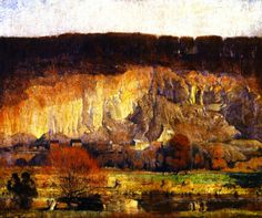 Daniel Garber 1880-1958   American Impressionist painter