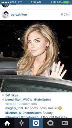 Kate upton blonde