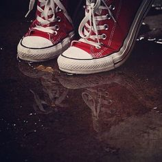 red converse :)